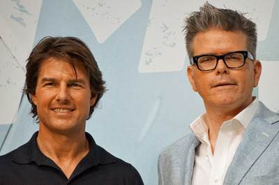 『M:I』シリーズ最新作を引っさげ、トム・クルーズと監督が来日! トムのプロ根性がより一層マゾかった!