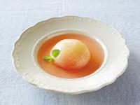 完熟桃のひんやりデザートスープ【レシピ掲載】
