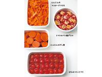 色で選べる! 野菜たっぷり常備菜
