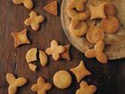 街の小さなお菓子屋さんの型抜きクッキー